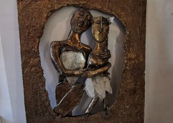 Elisabeth Brainos sculptrice à Antibes