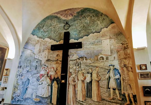 Le Sanctuaire de La Garoupe à Antibes